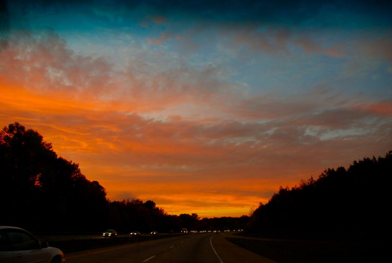 Sunset_on_I40