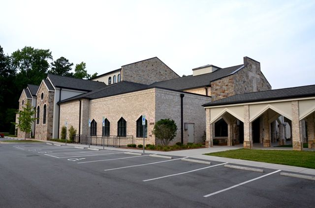 Saint Pius X Catholic Church .