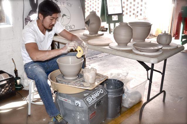 Kim's pottery