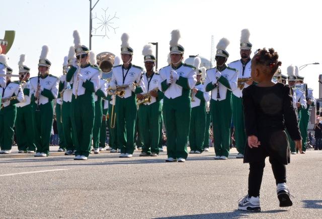 Parade fan