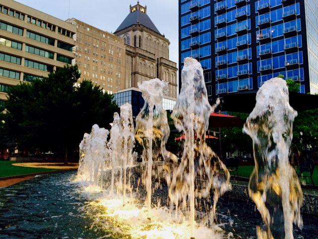 JP & Fountain