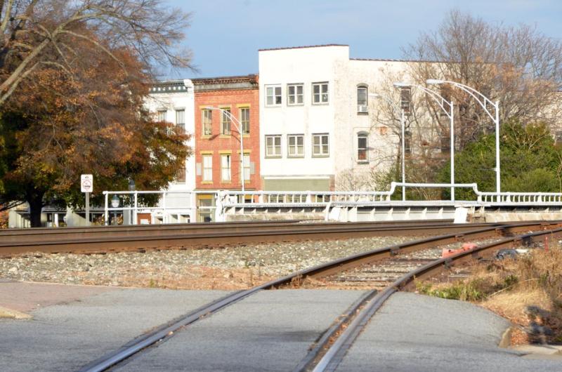 Railroad Tracks - 1