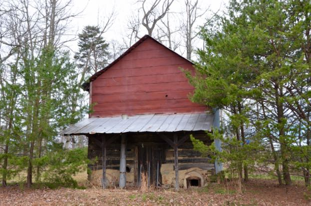 Tobacco barn - 1