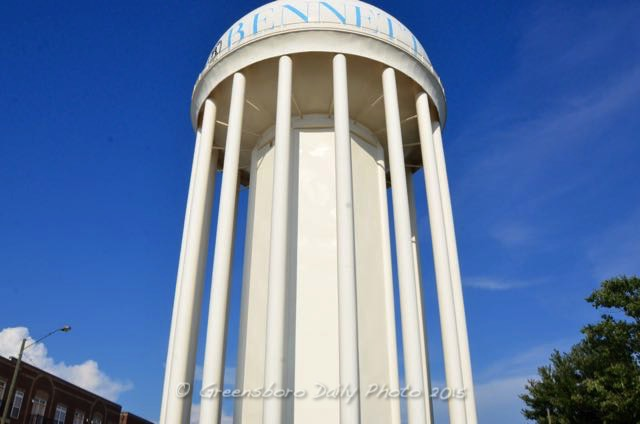 Bennett Water Tower - 1-2