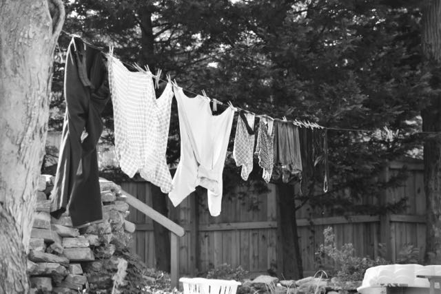 A laundry day - 1