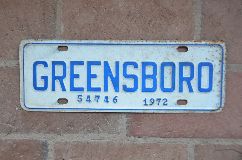 GREENSBORO tag