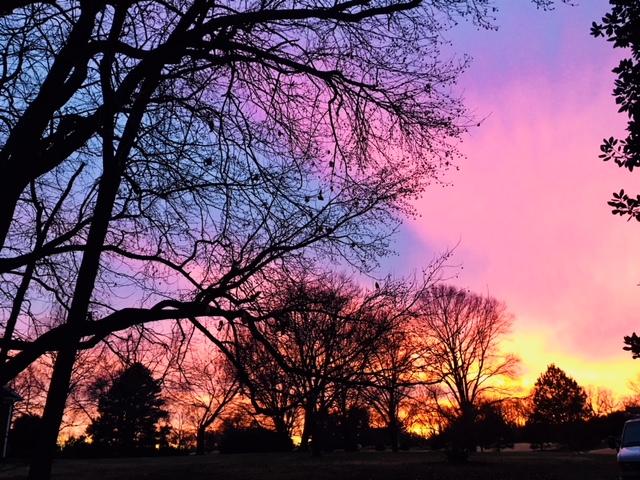 Silent Meditation Sunset