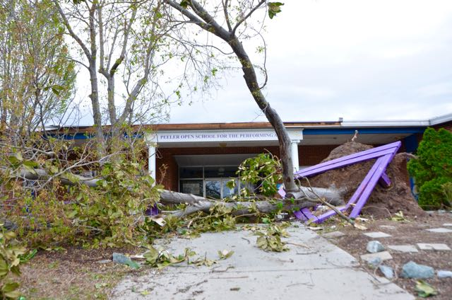 Peeler Elementary School: After the Storm