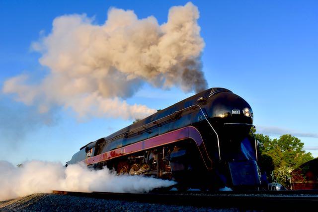 Steam Train 611 - 1