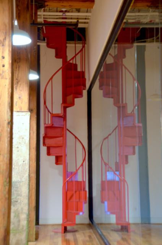 Red Stairs - 1