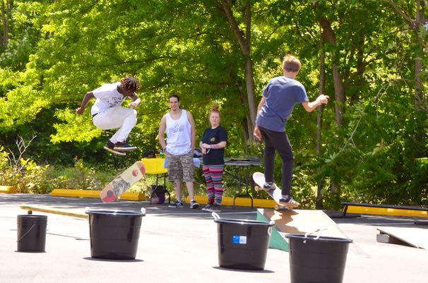 Skateboarding - 1