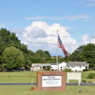 Colfax sign - 1