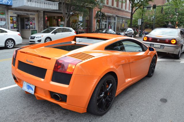 It Isnu0027t Every Day That One Is On A Walking Tour Of Historic Greensboro And  A Bright Orange Lamborghini Comes Driving By. The Above Vehicle Was Spotted  On ...