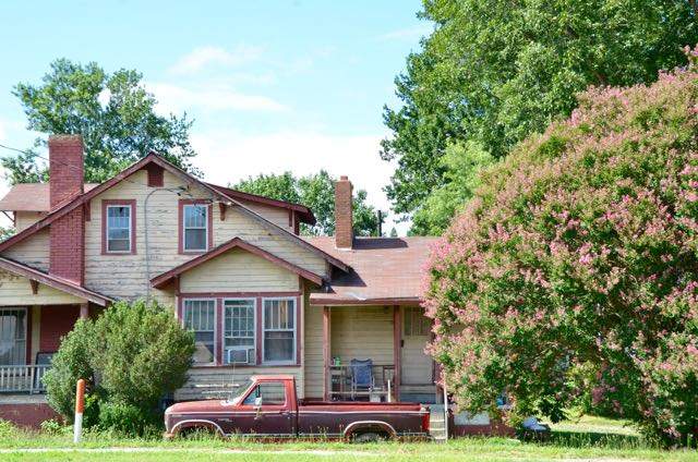 Rural Homes, Porches, and Trucks