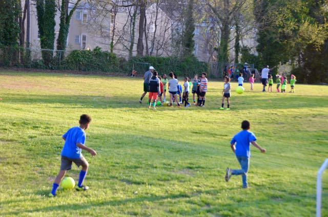 Soccer practice - 1