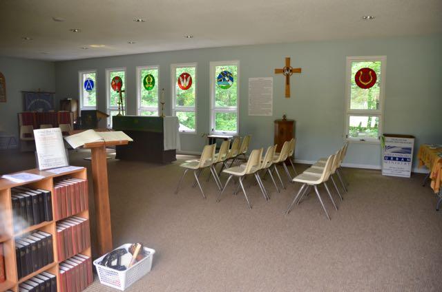 Inside church - 1
