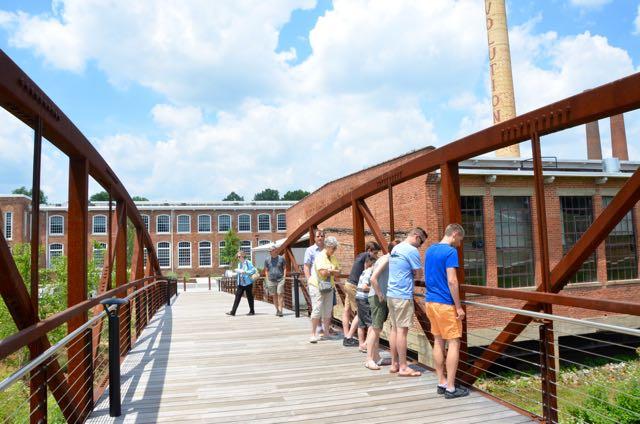 Revolution Mill bridge - 1