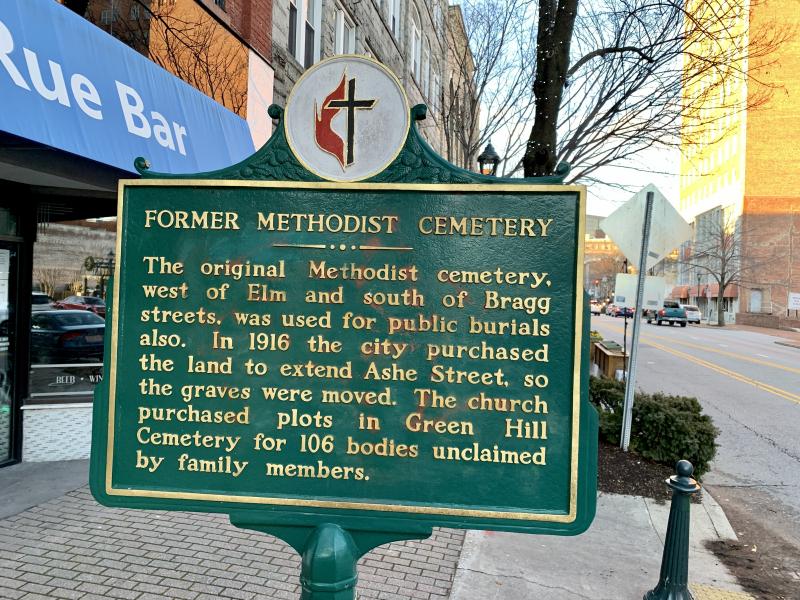 Former Methodist Cemetery