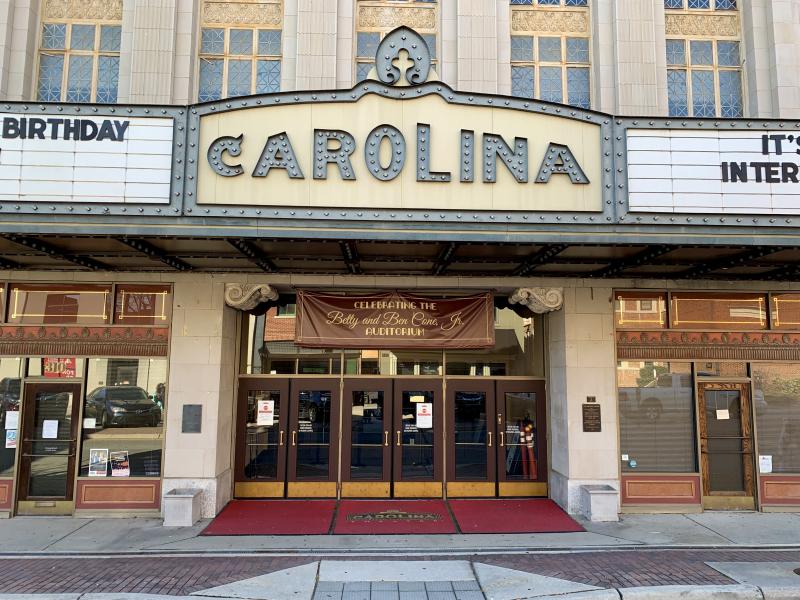 Carolina theatre cone