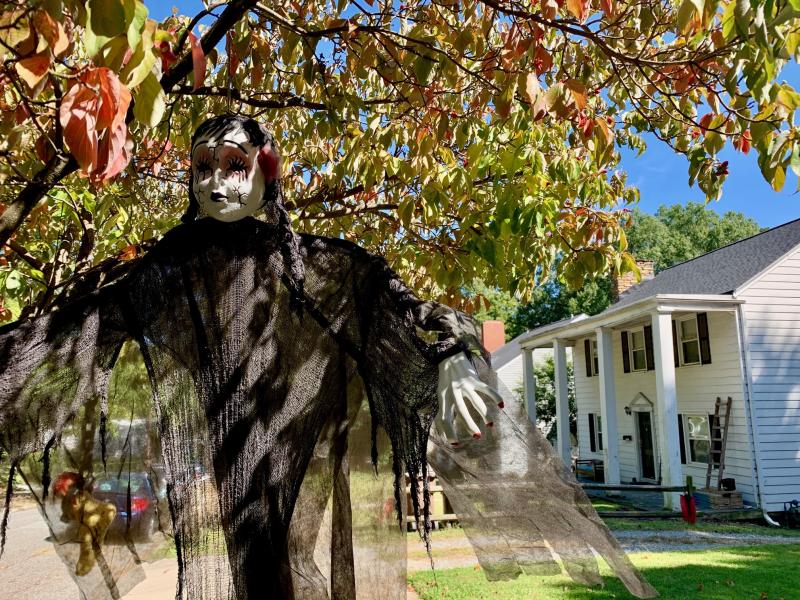 Halloween Locations 2020 Westover Terrace Greensboro Daily Photo: Houses