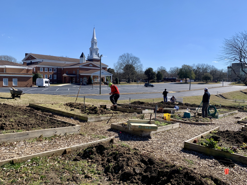 First Baptist community Garden
